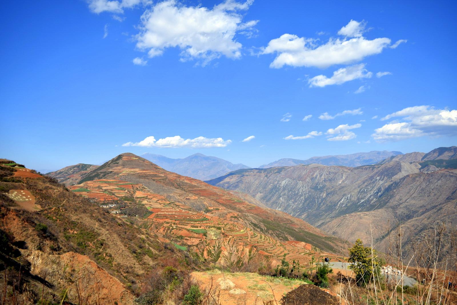 האדמה האדומה של דונגצ'ואן (צילום: טל ניצן)